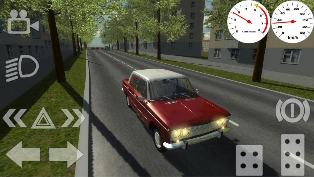 Russian Classic Car Simulator для Android Симуляторы  - russian-classic-car-simulator-1.6-1