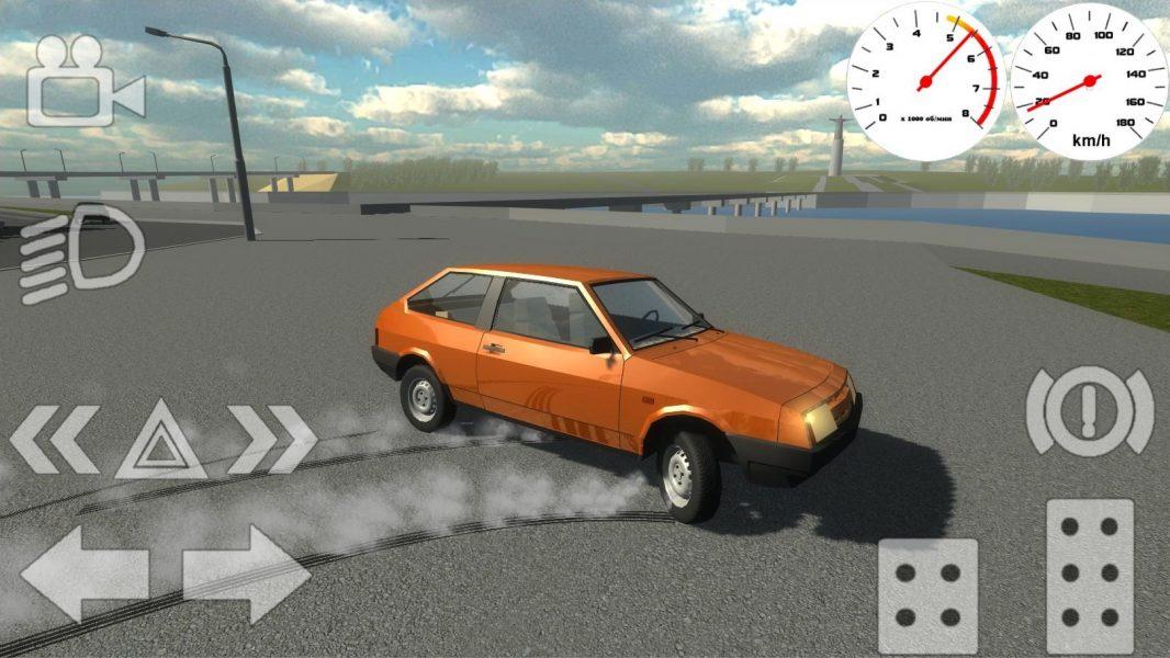 Russian Classic Car Simulator для Android Симуляторы  - russian-classic-car-simulator-1.6-2