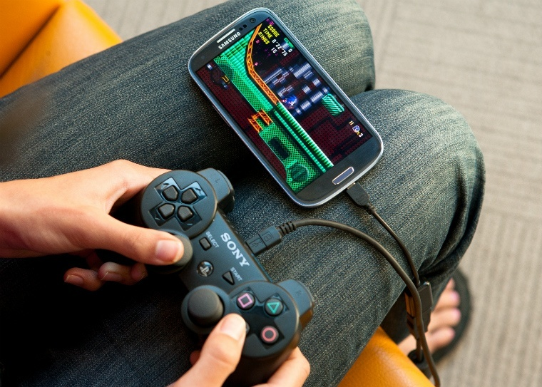 Как подключить геймпад к андроиду? Игры  - usb-android-gamepad