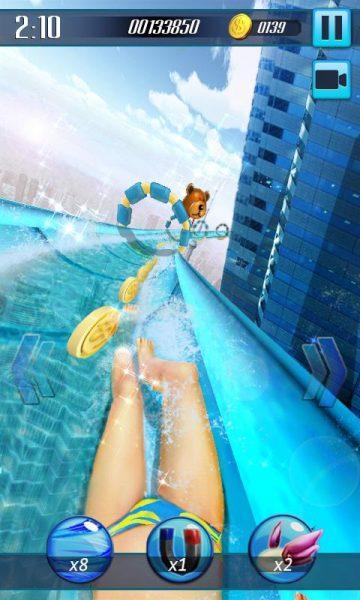 Водные горки 3D для Android Аркады - vodnye-gorki-3d-1.5-2