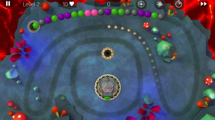 Marble Power Blast для Android 4apk