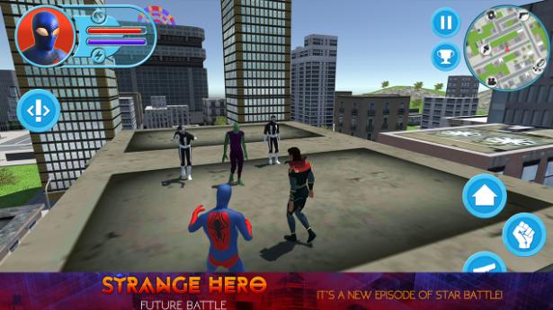 Strange Hero: Future Battle для Android Экшны, шутеры  - 15-12-2016-17-12-36