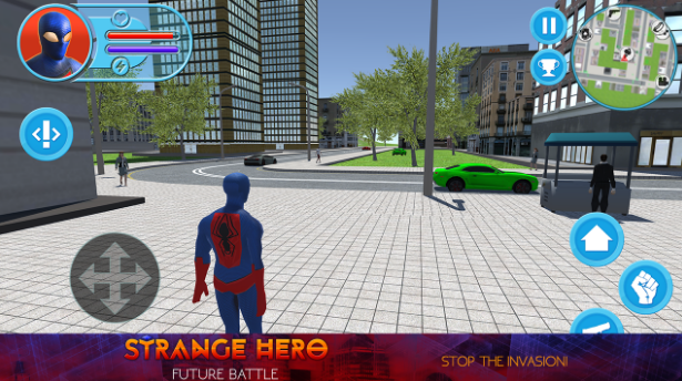 Strange Hero: Future Battle для Android Экшны, шутеры  - 15-12-2016-17-12-45