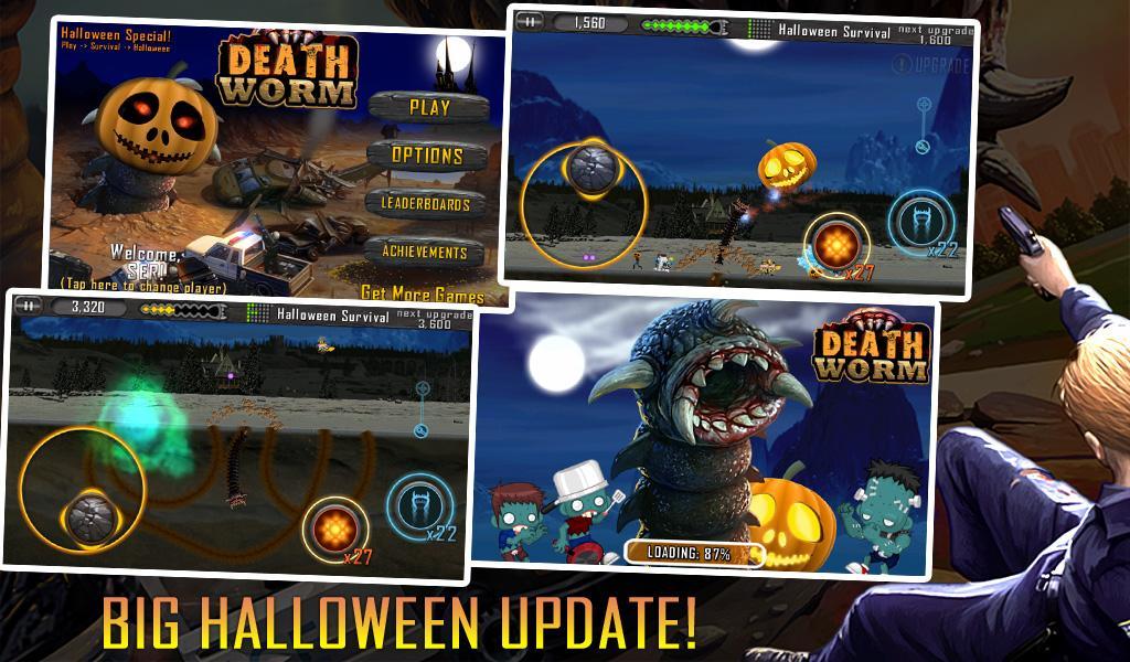 Death Worm Free: Alien Monster для Android Аркады  - death-worm-free-1.63-1