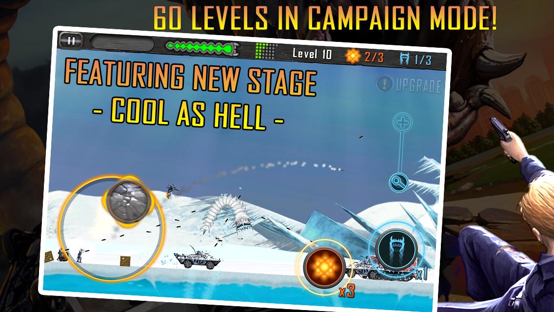 Death Worm Free: Alien Monster для Android Аркады  - death-worm-free-1.63-3