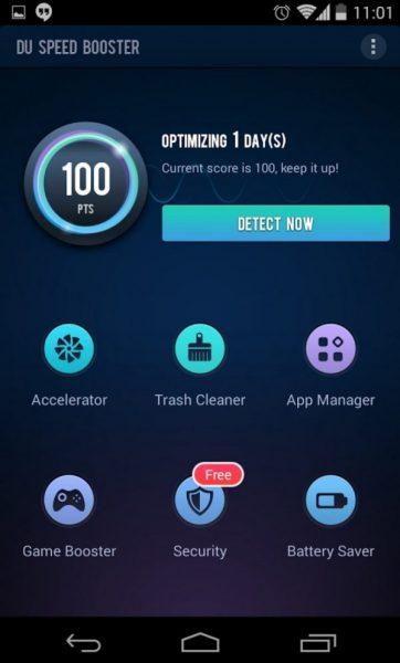 Топ 10 приложений для оптимизации Андроида Приложения  - du-speed-booster-600x995