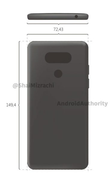 Первые рендеры смартфона LG G6 LG  - g6_leak2.-750