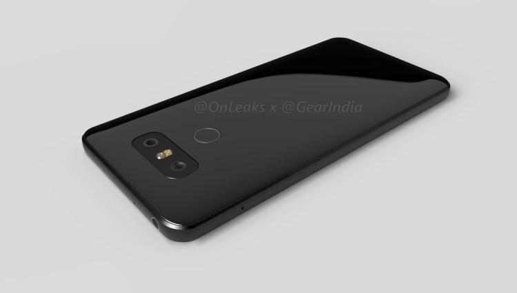 Качественные рендеры LG G6 - новые детали LG  - lgg6-08.-750