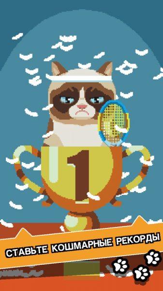 Сердитый Котик: ужасная игра для Android Аркады  - 1482581320_41obz