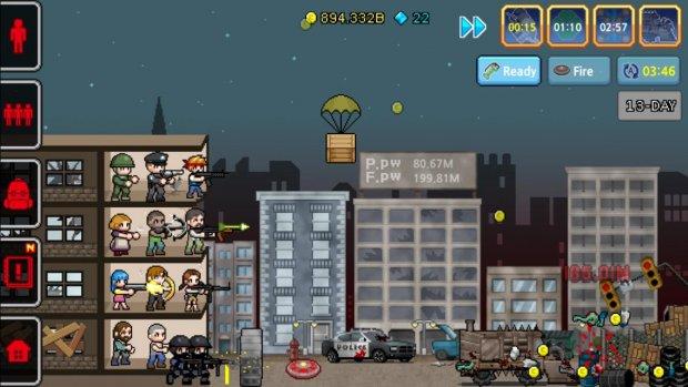 100 DAYS - Zombie Survival для Android Симуляторы - 5_620x349-41