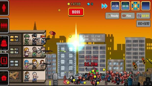 100 DAYS - Zombie Survival для Android Симуляторы - 6_620x349-32