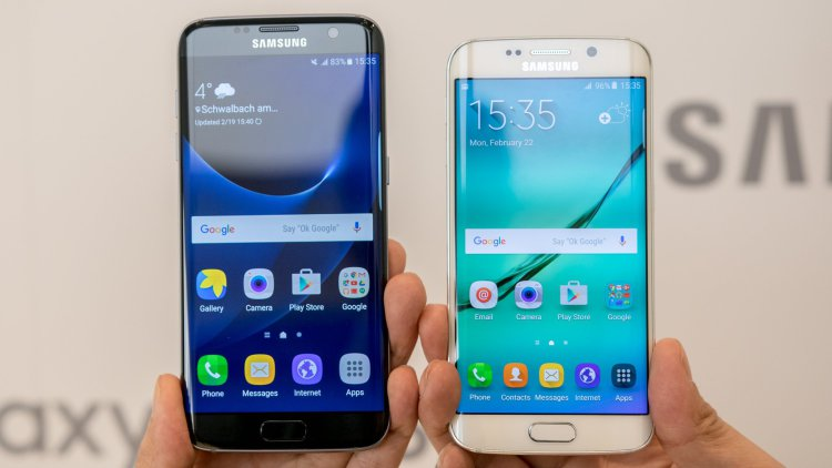 Samsung и ее планы по продажам Galaxy S8 Samsung  - androidpit-samsung-galaxy-s6-edge-vs-samsung-galaxy-s7-edge-1.-750