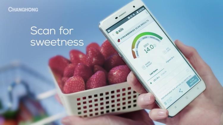 Смартфон, который может найти самое вкусное яблоко Мир Android  - changhong_h2.-750