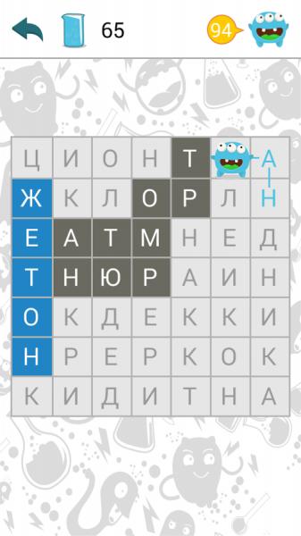 Филворды: поиск слов для Android Логические игры  - filvordy-1.9.2-2
