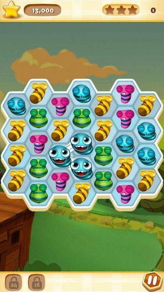 Bee Brilliant для Android Казуальные  - 1466850642_bee-brilliant-3