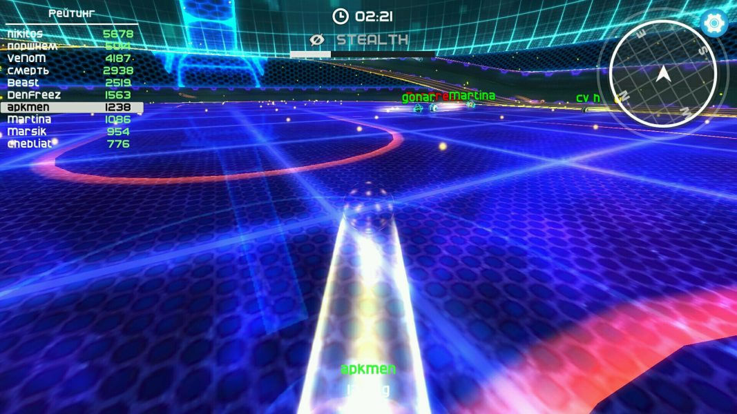 Neon Arena для Android Аркады - neon-arena4