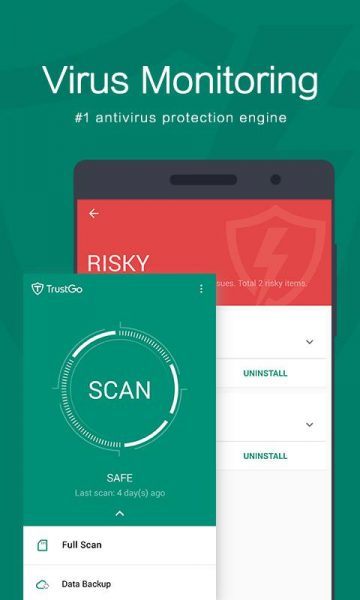 TrustGO Antivirus & Mobile Security для Android Безопасность  - trustgo-2.6.0-1