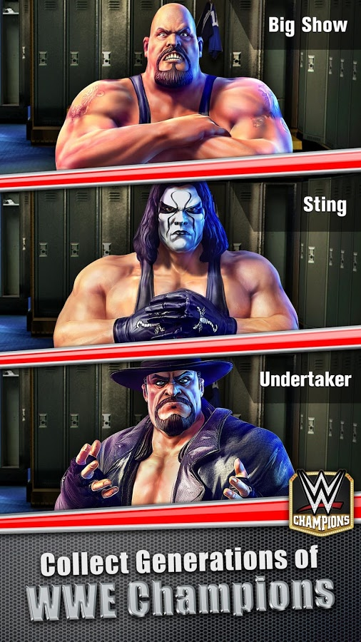 WWE: Champions для Android Казуальные  - wwe-champions-0.131-1