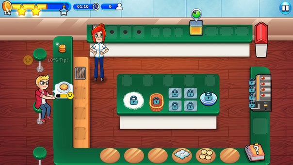 Chef Rescue для Android Казуальные  - 1463056382_chef-rescue1