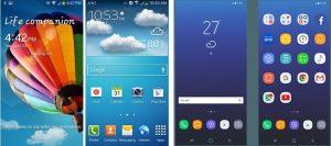Первые скриншоты  оболочки Galaxy S8 Samsung  - 32082b328b0855deb2d830cc566c36b4-300x133
