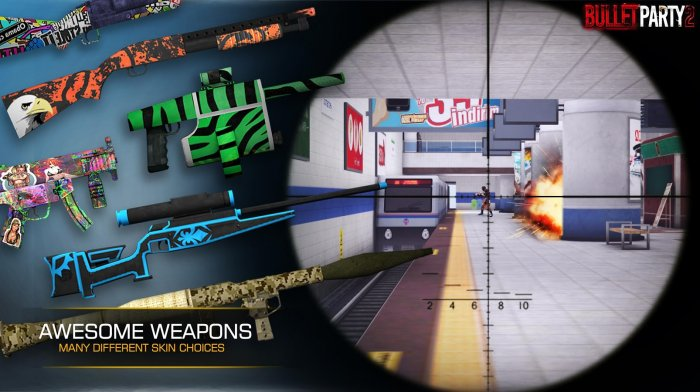 Bullet Party CS 2 : GO STRIKE для Android Экшны, шутеры  - 4_700x392