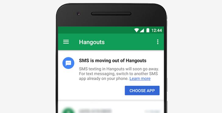Google закрывает поддержку SMS в Hangouts Мир Android  - 64fdb742fca8bb8813b47497a9bddcde