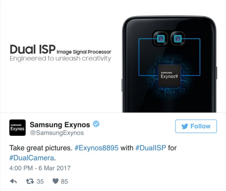 В Samsung могут появиться двойные камеры Samsung  - ac410af4a169a97d239d362a374718f1