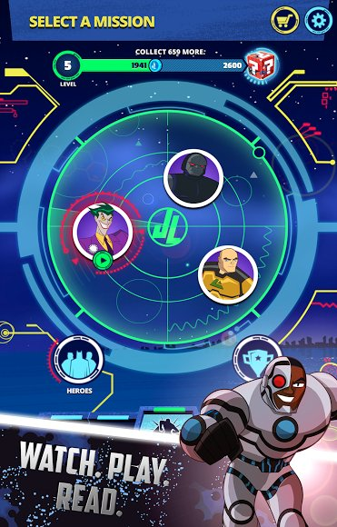 Justice League Action Run для Android Экшны, шутеры - justice-league-action-run-1