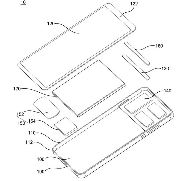 Meizu тоже готовится к эпохе безрамочных смартфонов Meizu  - meizu-bezel-less-phone-patent