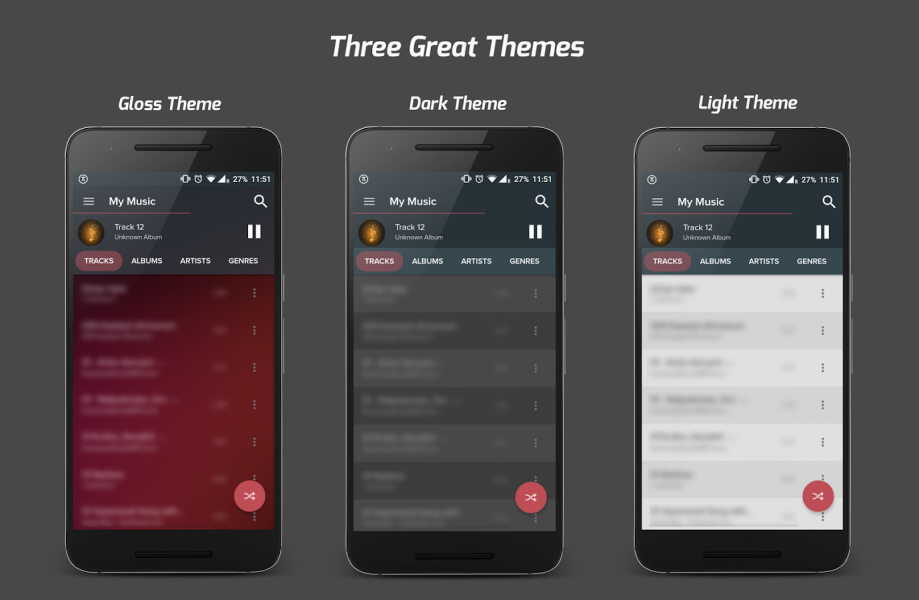 Pi Music Player для Android Мультимедиа - pi-music-player-2.4.4-2