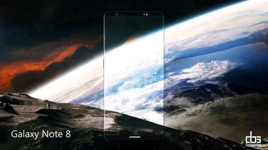 Новый рендер Samsung Galaxy Note 8: космический дизайн Samsung  - 106ee43566e1ac93416c532760074da4