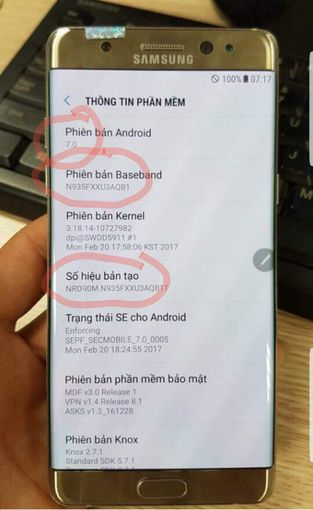 Фото восстановленного Samsung Galaxy Note 7R Samsung  - 33ade7ce1aedfbd2d42ed6e3d1972956