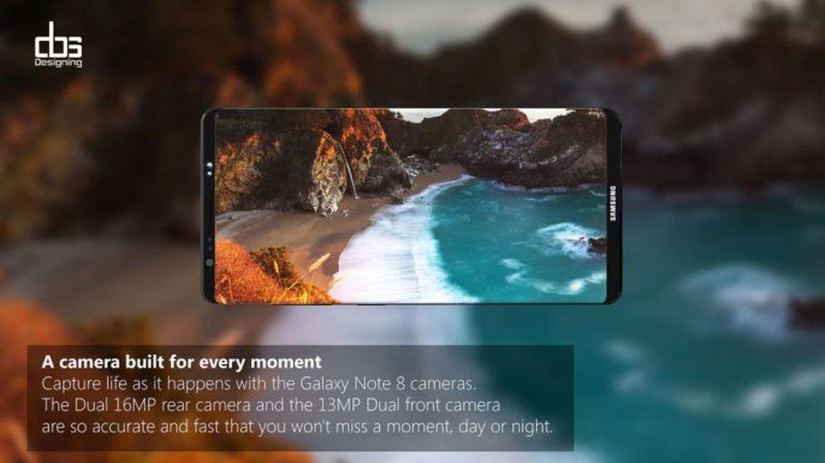 Новый рендер Samsung Galaxy Note 8: космический дизайн Samsung  - 62c8aa84f3e82cf94cbed6fcfc0560fb
