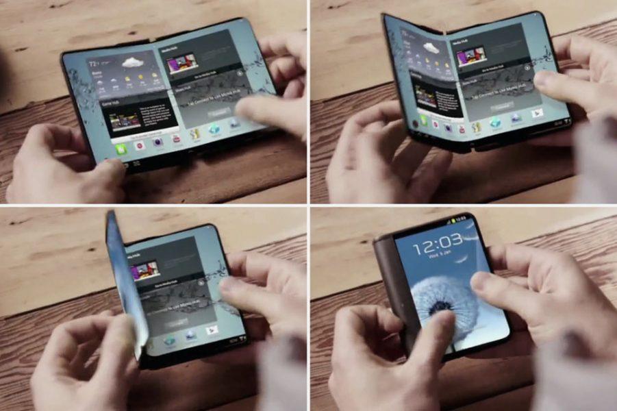 Samsung не выпустит смартфон со складным дисплеем Samsung - 7b9c4b3c0a7904