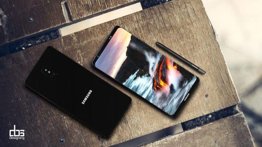 Новый рендер Samsung Galaxy Note 8: космический дизайн Samsung  - b89bfef19ec95a848c6013e44a639d25