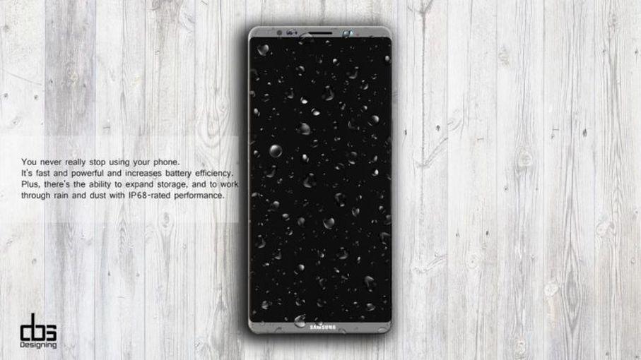 Новый рендер Samsung Galaxy Note 8: космический дизайн Samsung  - c5079edb0afe6ebaaab3cdca65c9dd19