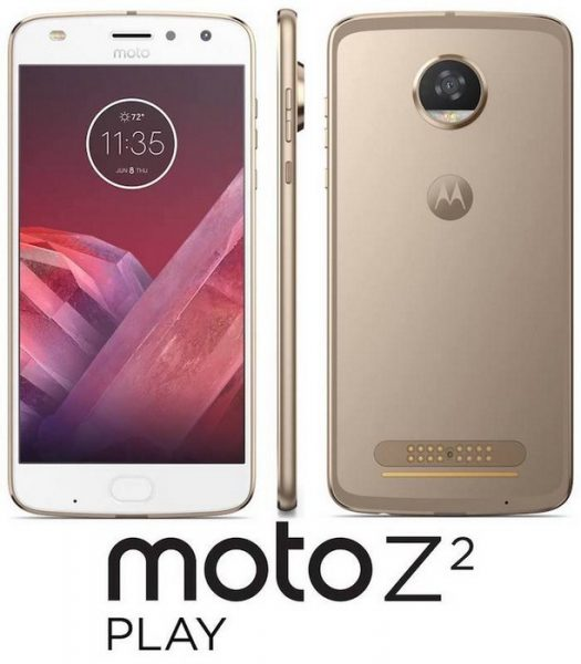 Пресс-рендеры Moto Z2 Play. Дата анонса. Другие устройства  - moto-z2-play-leak