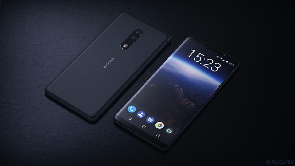 Эскизы новых смартфонов Nokia 8 и Nokia 9 Другие устройства  - nokia-9-renders-2