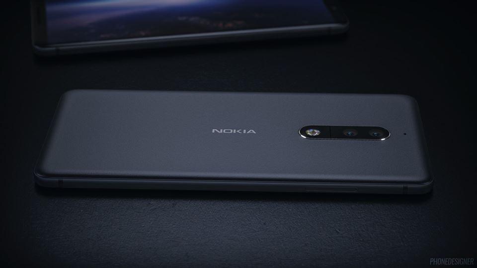 Эскизы новых смартфонов Nokia 8 и Nokia 9 Другие устройства  - nokia-9-renders-6