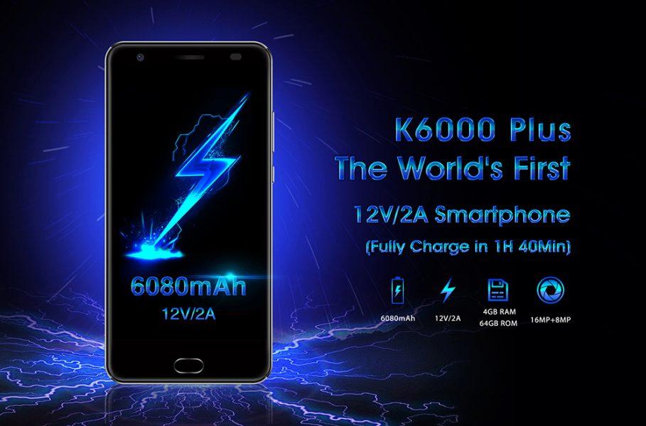 Распродажа смартфонов Oukitel K6000 Plus Другие устройства - 1490696434415260