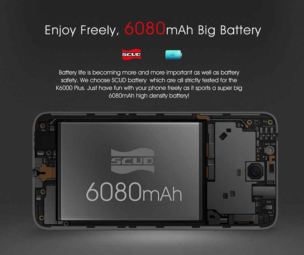Распродажа смартфонов Oukitel K6000 Plus Другие устройства - 1490696434981440
