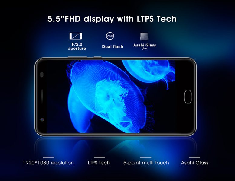 Распродажа смартфонов Oukitel K6000 Plus Other  - 1490696435264400