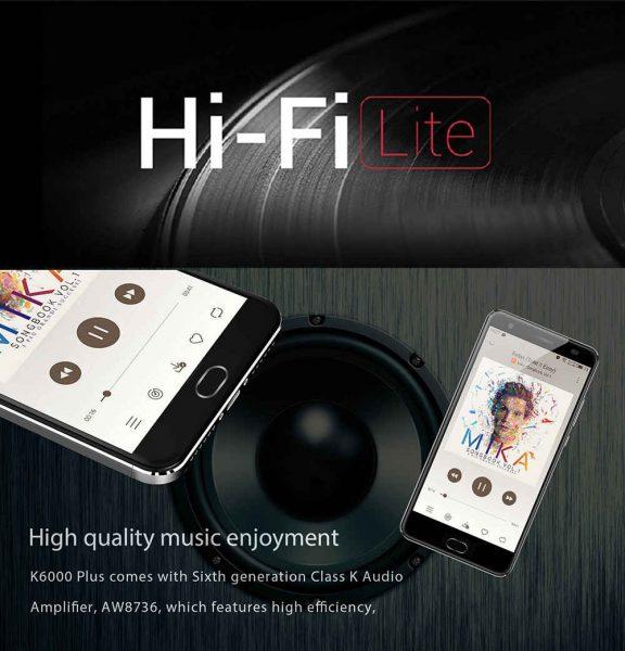 Распродажа смартфонов Oukitel K6000 Plus Другие устройства - 1490696435893494