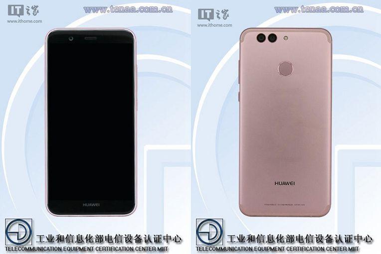 Huawei Nova 2 и Nova 2 Plus засветились в TENAA Другие устройства  - 162496d1ef80abe6665374171dcaf538