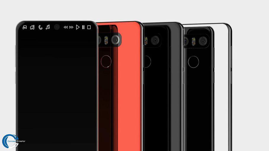 В Сети появился еще один вариант концепта LG V30 LG  - 1c2231c32db5b689bd82cadd7e0106e5