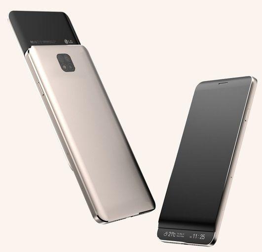 LG V30 станет сенсорным слайдером с двумя экранами LG  - 25bdfef29f87ffedde630fcf0b5924e5