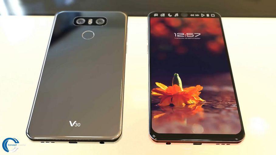 В Сети появился еще один вариант концепта LG V30 LG  - 2b5fba6976ea615a5160984b25b5720b