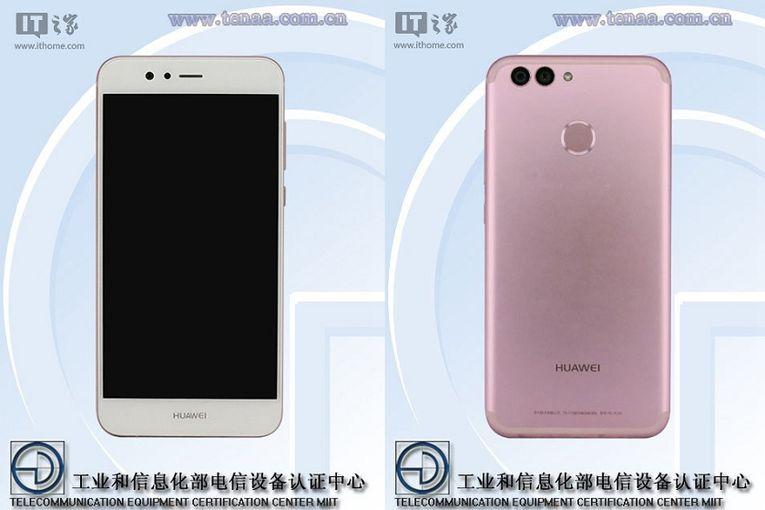 Huawei Nova 2 и Nova 2 Plus засветились в TENAA Другие устройства  - 39e11690685e26c894690526cfb27555