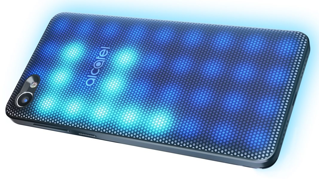 Alcatel A5 LED со светящейся крышкой уже в России Другие устройства  - alcatel-a5-led