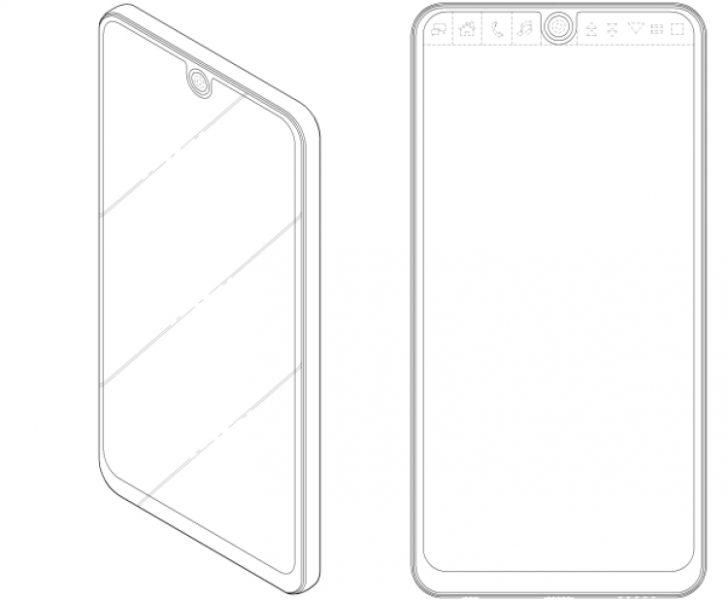 LG готовит конкурента iPhone 8 (рендеры) LG  - lg-patent-v30.-750